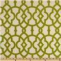 Home Accents Jotto Flocked Olive Green