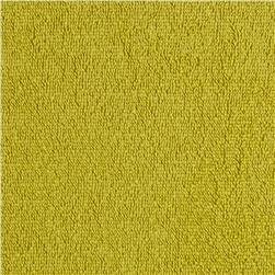 Cotton Blend Stretch Terry Yellow/Green