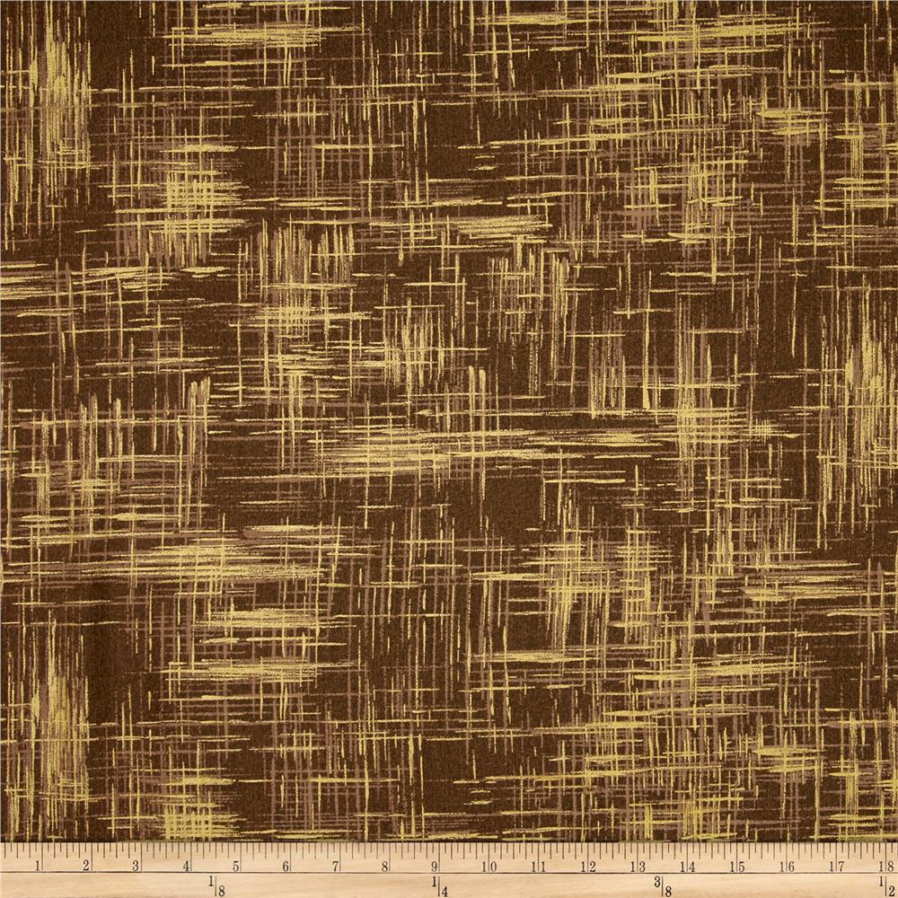 Michael Miller Valencia Painter's Canvas Taupe Metallic Fabric By The Yard