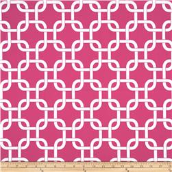 Premier Prints Gotcha Candy Pink/White Fabric