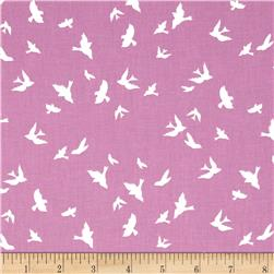 Violet Craft Brambleberry Ridge Flight Orchid Fabric