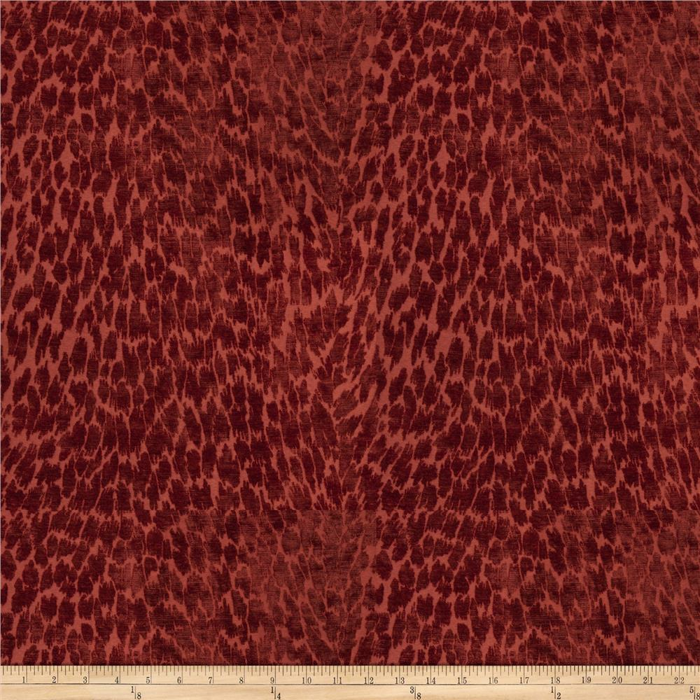 fabricut anadama skin chenille cabernet discount designer fabric. Black Bedroom Furniture Sets. Home Design Ideas