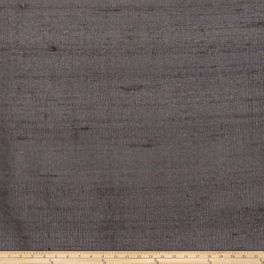 Fabricut Luxury Dupioni Silk Pewter