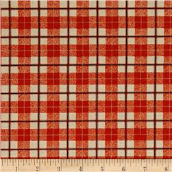 Saranac Lake Crawford Notch (Plaid) Red