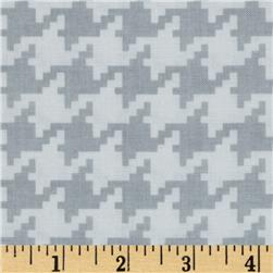 Michael Miller Everyday Houndstooth Fog Fabric
