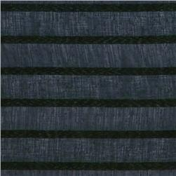 Eroica Fancy Stripe Sheer Graphite