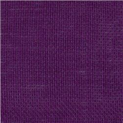 47'' Shalimar Burlap Purple Fabric