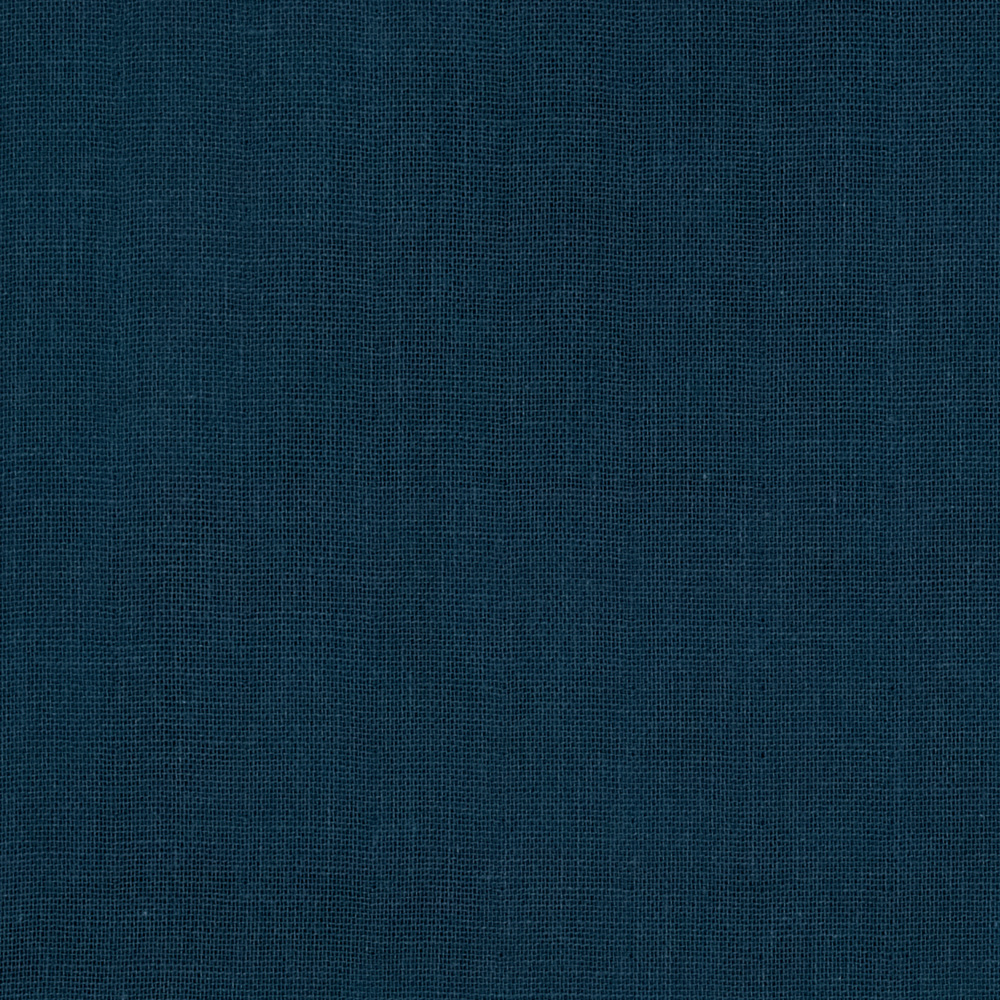 Cotton + Steel BeSpoke Cotton Double Gauze Solid Indigo Fabric by Cotton & Steel in USA