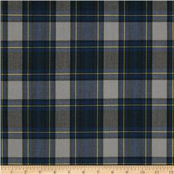 School Uniform Plaid Blue