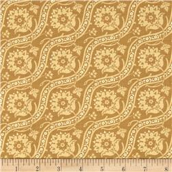 Haven Jacquard-Look Goldenrod