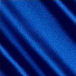 Barcelona Spandex Stretch Satin Royal