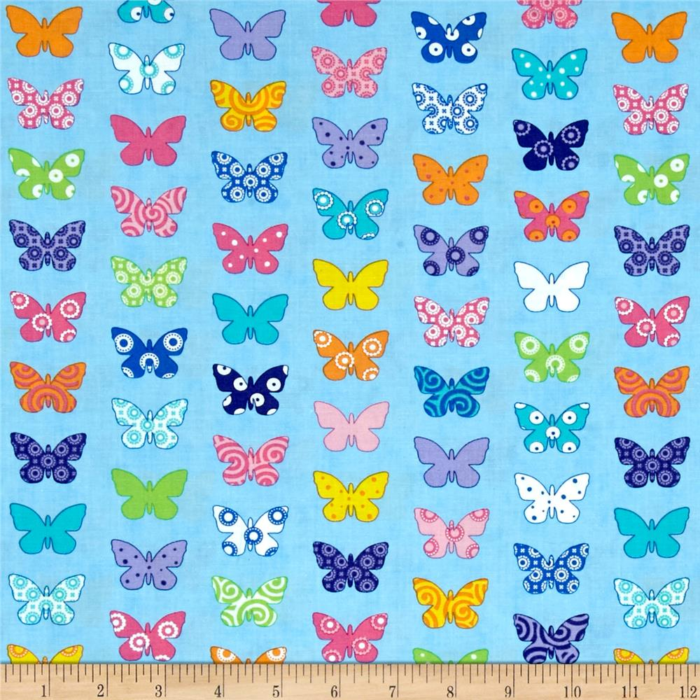 Moda Brighten Up! Flutter Up Blue