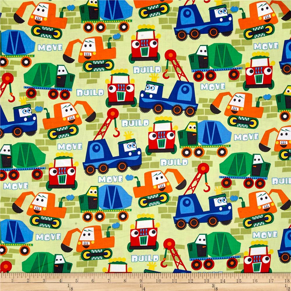 Michael Miller Little Movers Buile More Paintbox