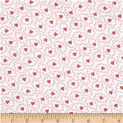 "Robert Kaufman 108"" Quilt Back Hints of Prints Flowers Poppy"
