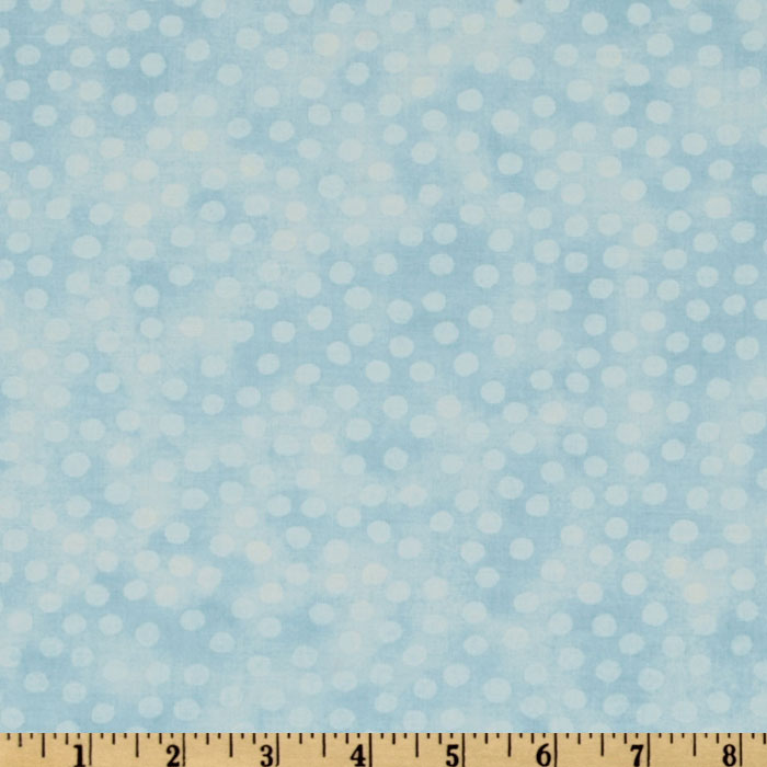 Moda Marble Dots (#3405-55) Sky Blue Fabric