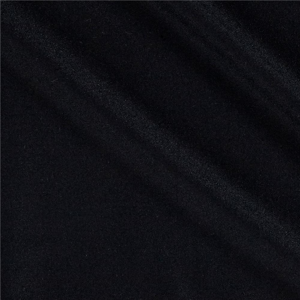 Microfiber Stretch ITY Knit Black