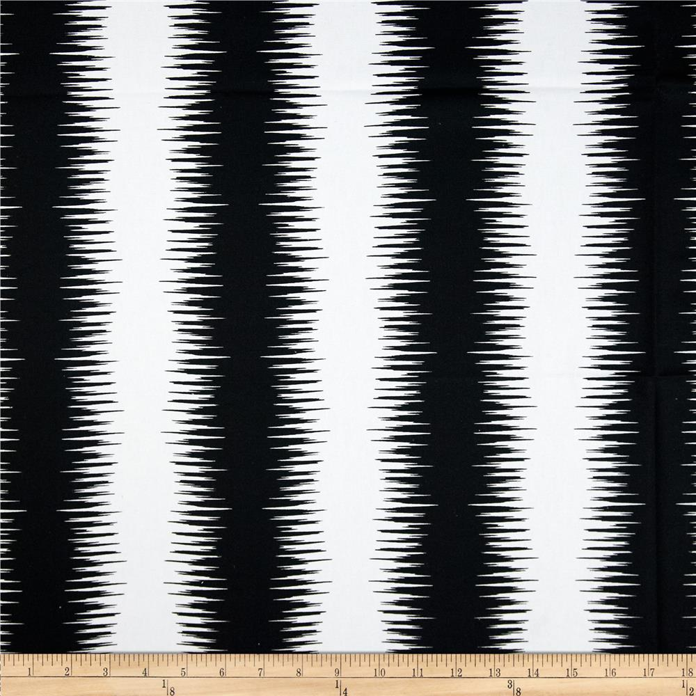 Premier Prints Jiri Stripe Black