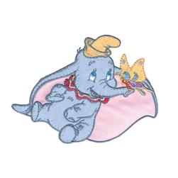 Disney Dumbo With Butterfly Iron On Applique