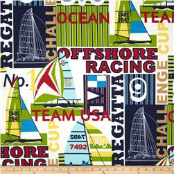 Bryant Indoor/Outdoor Regatta Nautical Fabric