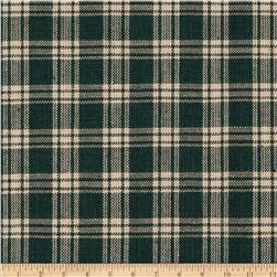 Homespun Basics Plaid Tan/Green