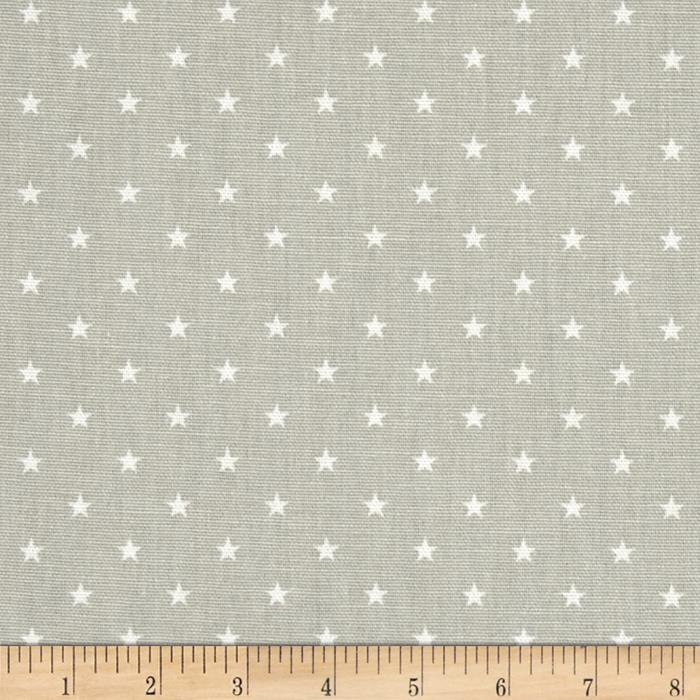 Premier Prints Mini Stars French Grey