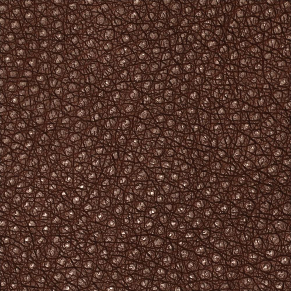 Faux Leather Ostrich Chocolate