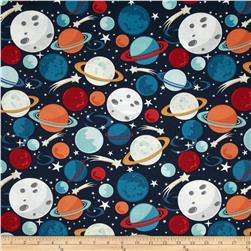 Blast-Off Planets Multi Fabric