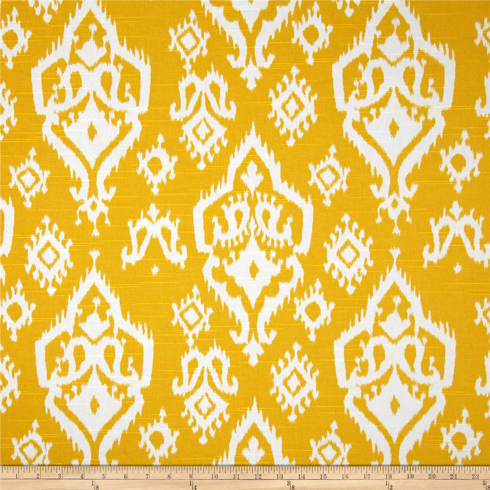 Premier Prints Raji Slub Corn Yellow