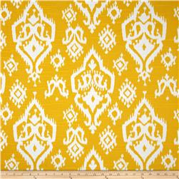 Premier Prints Raji Slub Corn Yellow Fabric