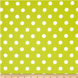 Moda Dottie Medium Dots Summer Lime