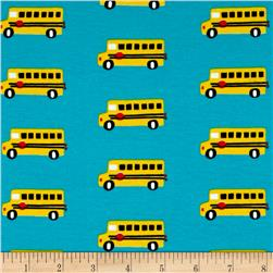 Cloud 9 Organics Sidewalk Interlock Knit Bus Stop Blue