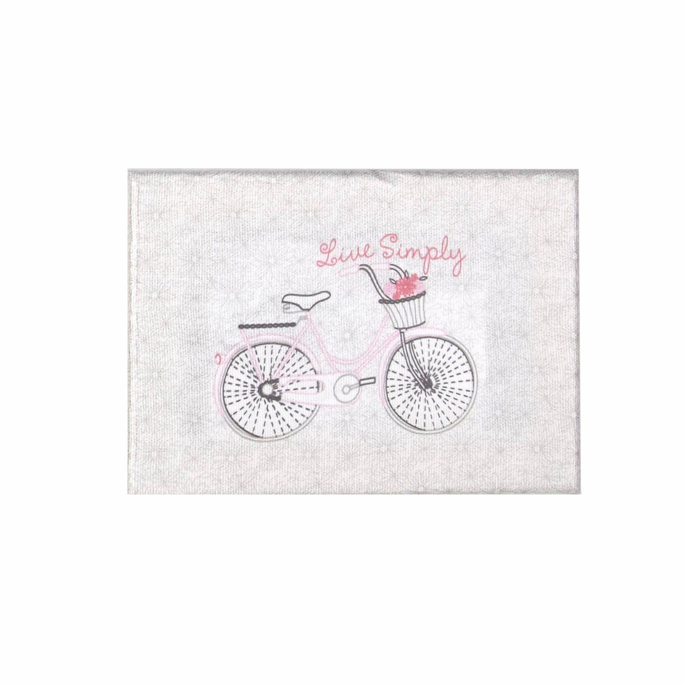 Image of Bicycle Live Simply Stretched Canvas Embroidery Kit