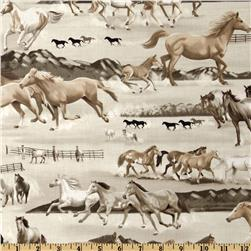 Kanvas Best of the West Wild Horse Taupe