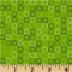 Spot On Circle In A Line Lime