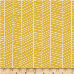 Joel Dewberry True Colors Herringbone Yellow