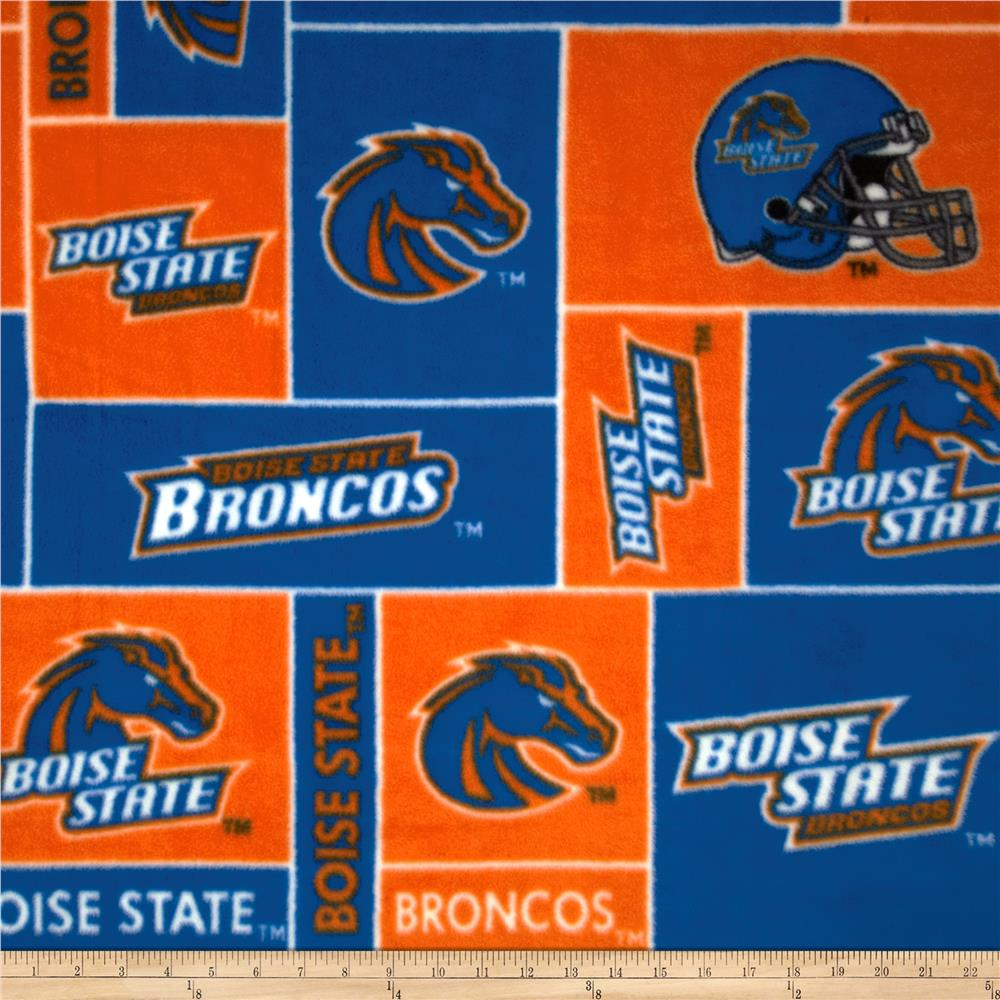 Collegiate Fleece Boise State University Blocks Orange/Blue