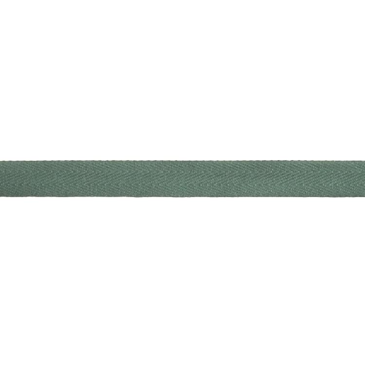 "Cotton Twill Tape Roll 5/8"" x 55 Yards Dark Green"