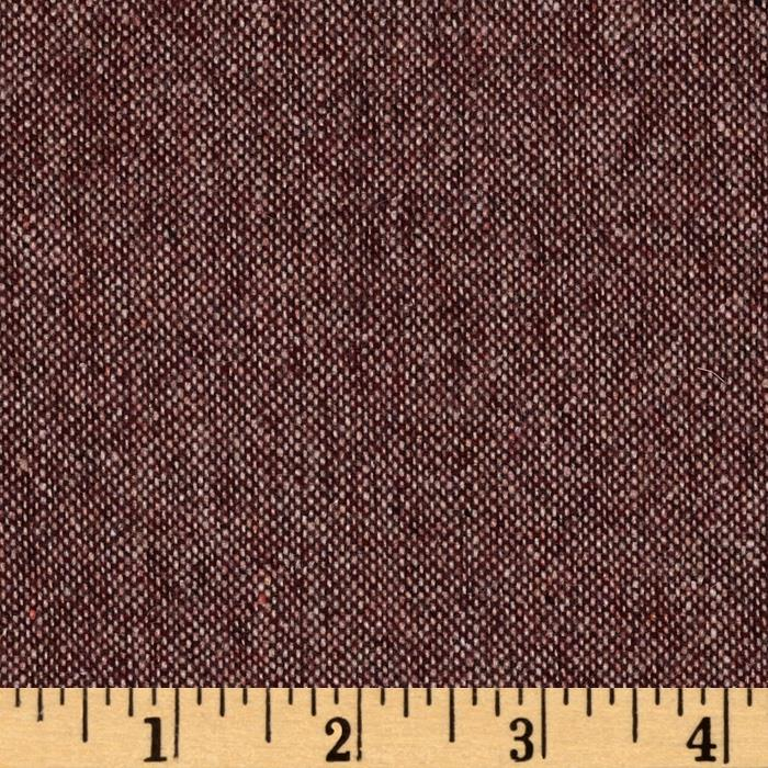 Designer Brushed Suiting Plum