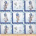 Holly Hobbie Holly Set Patch Blue