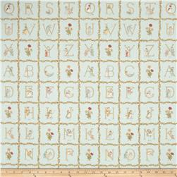 Lecien Kate Greenaway Alphabet Blocks Blue