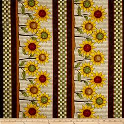 Sunflower Bouquet Sunflower Stripe Beige