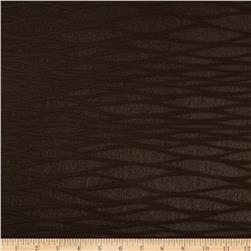 Faux Leather Embossed Abstract Brown