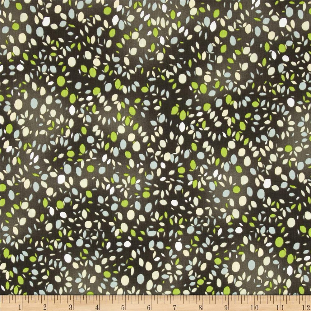 Lush Harvest Dots Green