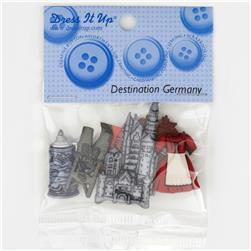 Dress It Up Embellishment Buttons  Germany