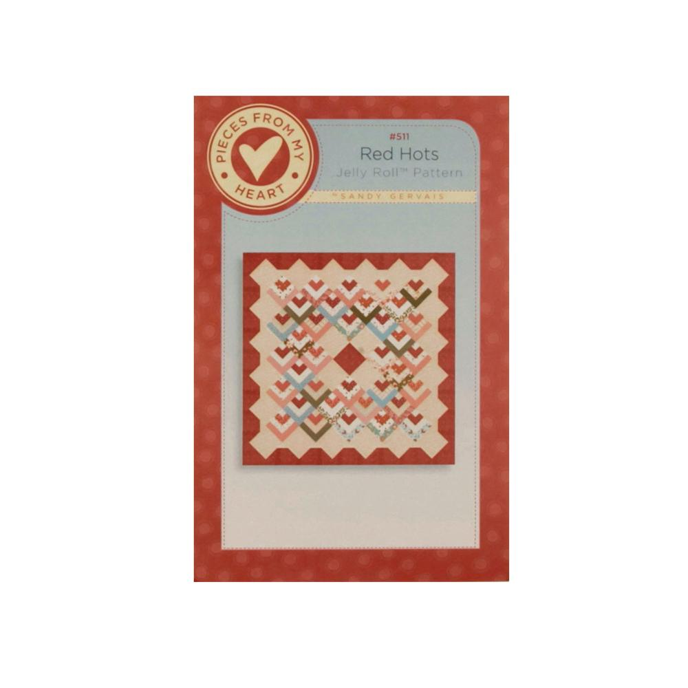 Pieces From The Heart Red Hots Quilt Booklet Pattern