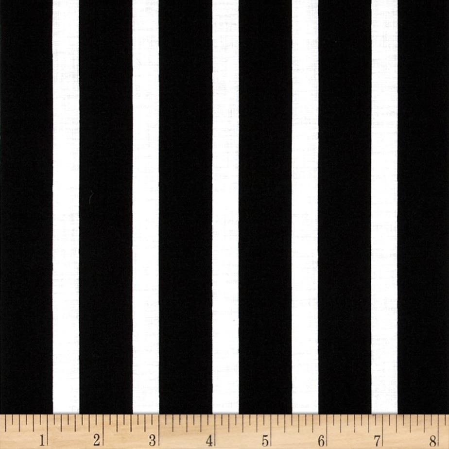 Let's Play Dolls Stripes Black/White