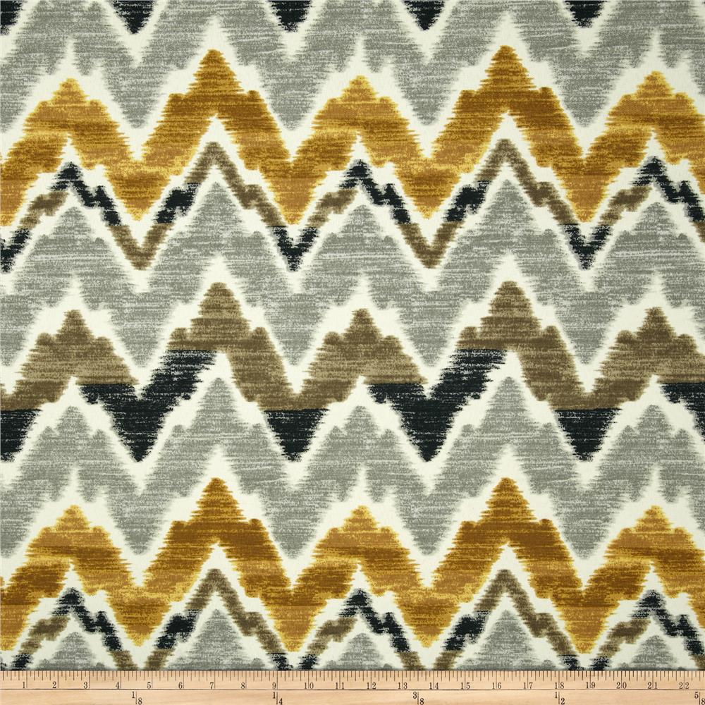 Swavelle/Mill Creek Indoor/Outdoor Tiago Chevron Gilded