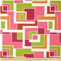 Gramercy High Line Geo Pink/Multi