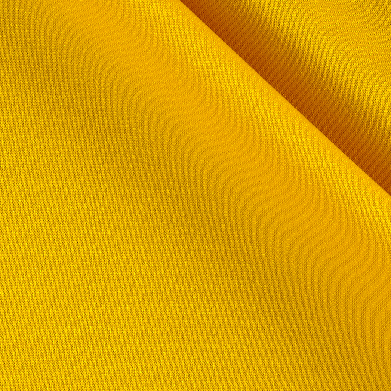 Pon Te Am Scuba Knit Golden Yellow Fabric By The Yard