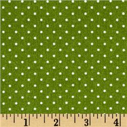 Yuletide Memories Dots Green